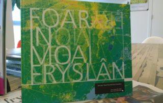 Cover Boek Foar in moai Fryslan